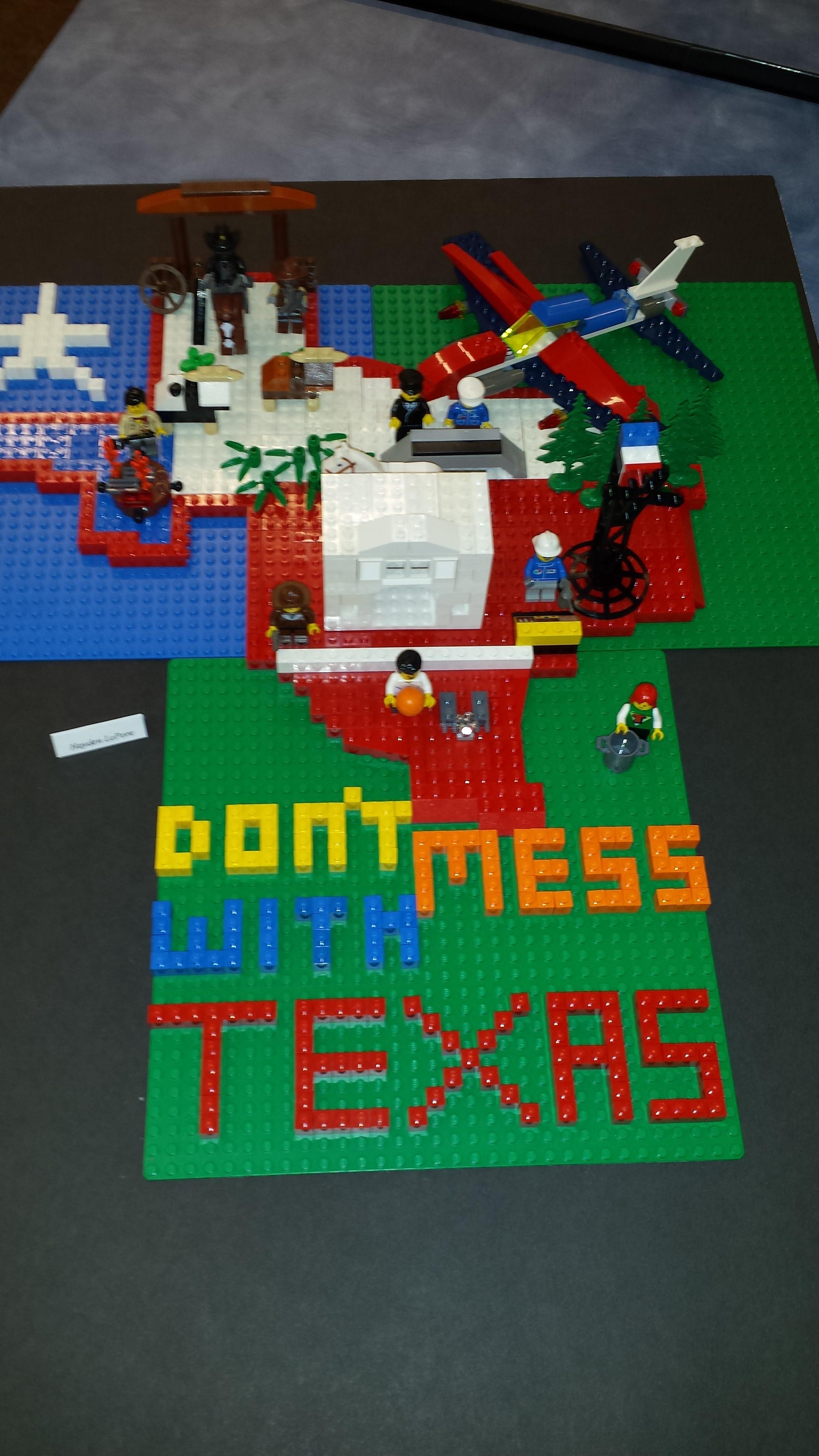 50 States of LEGO!